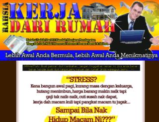 kerjadarirumah.rahsia.net screenshot