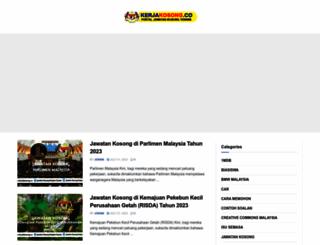 kerjakosong.co screenshot