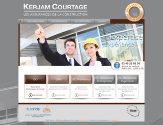 kerjamcourtage.com screenshot