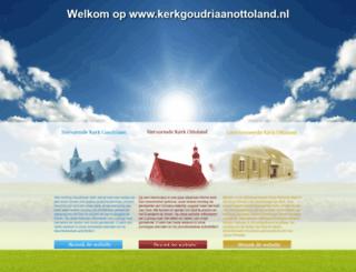 kerkgoudriaanottoland.nl screenshot