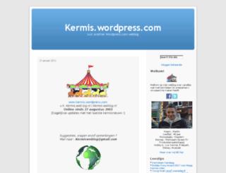 kermis.wordpress.com screenshot