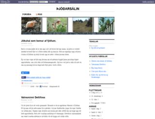 kermit.blog.is screenshot