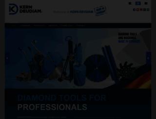 kern-diamant.de screenshot