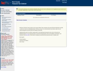 kern.mytaxsale.com screenshot