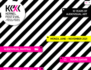 kernelfestival.net screenshot