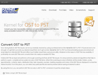 kernelosttopst.com screenshot