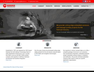 kernex.in screenshot