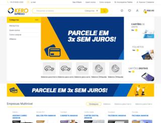 keroimpresso.com.br screenshot