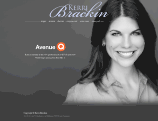 kerribrackin.com screenshot