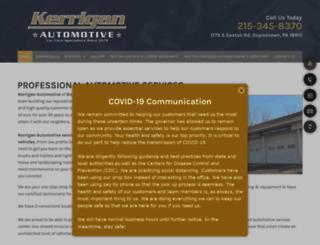 kerriganauto.com screenshot