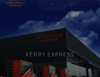 kerryexpress.com screenshot
