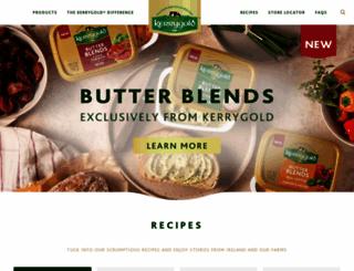 kerrygold.com screenshot