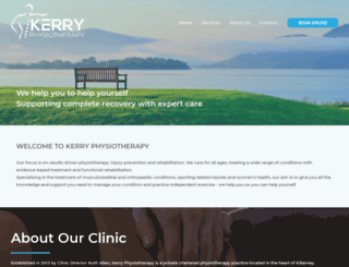 kerryphysiotherapy.ie screenshot
