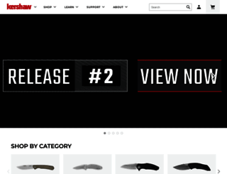 kershaw.kaiusaltd.com screenshot
