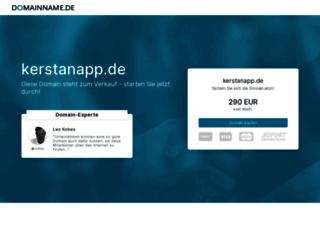 kerstanapp.de screenshot