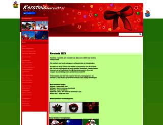 kerstmisoverzicht.nl screenshot