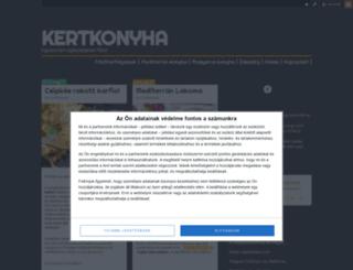 kertkonyha.blog.hu screenshot