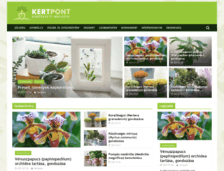 kertpont.hu screenshot
