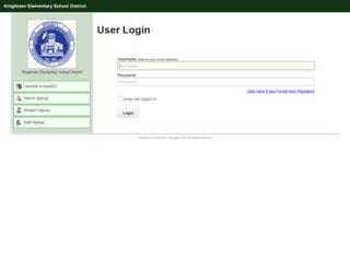 kes.schoolwise.com screenshot