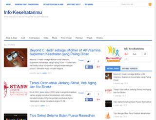 kesehatanmu.com screenshot