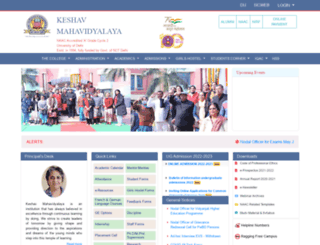 keshav.du.ac.in screenshot