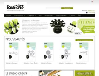 kesiart.oxyweb.com screenshot