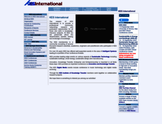 kesinternational.org screenshot