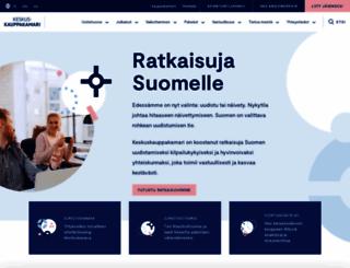 keskuskauppakamari.fi screenshot