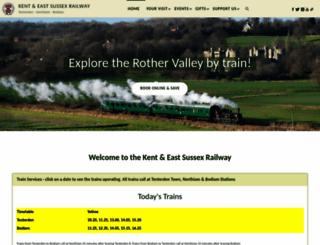 kesr.org.uk screenshot