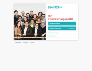 kess.creditplus.de screenshot