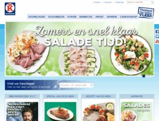 ketelaar.keurslager.nl screenshot