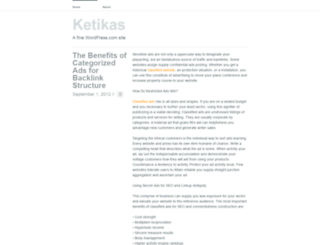 ketikas.wordpress.com screenshot