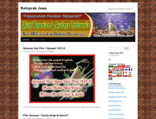 ketoprakjawa.wordpress.com screenshot