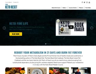 ketoreset.com screenshot