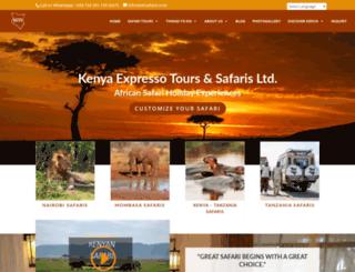 ketsafaris.com screenshot
