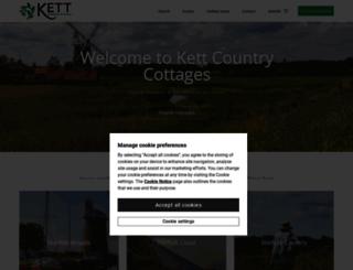 kettcountrycottages.co.uk screenshot