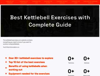 kettlebell-exercises.com screenshot
