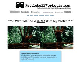kettlebellworkouts.com screenshot