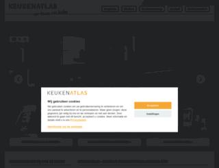 keukenatlas.nl screenshot