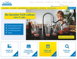 keukencasting.bruynzeelkeukens.nl screenshot