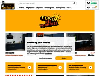 keukenconcurrent.nl screenshot