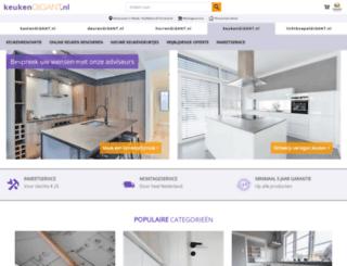 keukengigant.nl screenshot