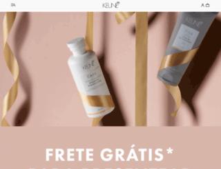 keune.com.br screenshot