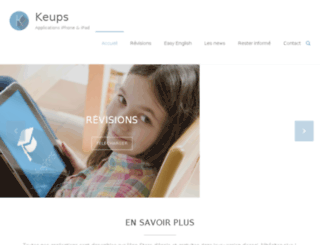 keups.com screenshot