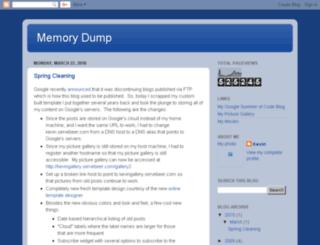 kevin.servebeer.com screenshot