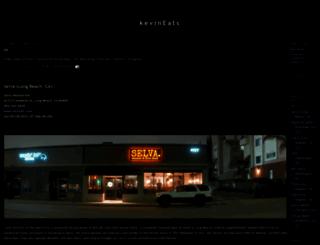 kevineats.com screenshot