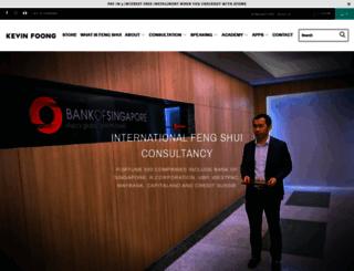 kevinfoongcg.com screenshot