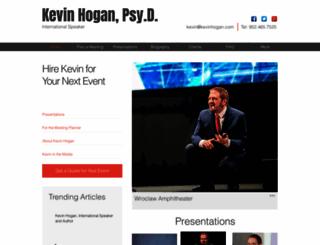 kevinhogan.net screenshot