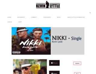 kevinlyttlemusic.com screenshot