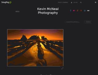 kevinmcnealphotography.com screenshot